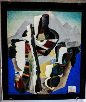 Diego Rivera - Paisaje Zapatista